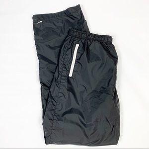Nike Black Nylon Jogger Track Pants XL 16/18